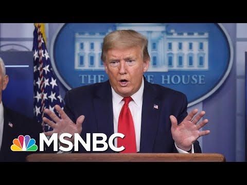 Elizabeth Goitein: Trump 'Doesn't Quite Understand' COVID-19 Pandemic Is Not A War   MSNBC