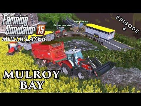 Multiplayer Farming Simulator 15 | Mulroy Bay | Episode 4