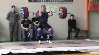 Клещев Дмитрий Толчок 165 кг  3 Подход
