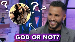 Ricky Whittle Guesses Which Marvel Characters are Actually Gods | Earth's Mightiest Show