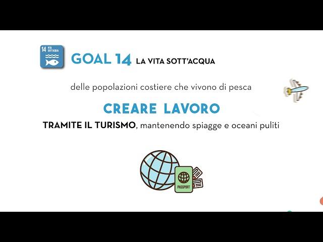 SDG Goal 14: La vita sott'acqua