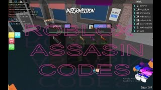Roblox Assassin Codes ( AUGUST 2017 )