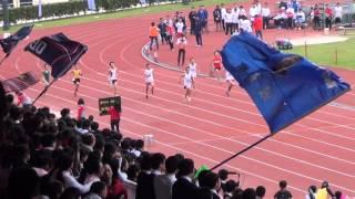 港九區D1中學學界田徑賽 2015-2016 BC 200m