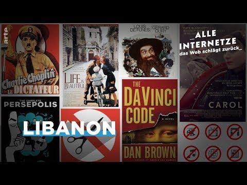 Ein digitales Museum der Zensur im Libanon – Alle Internetze – ARTE