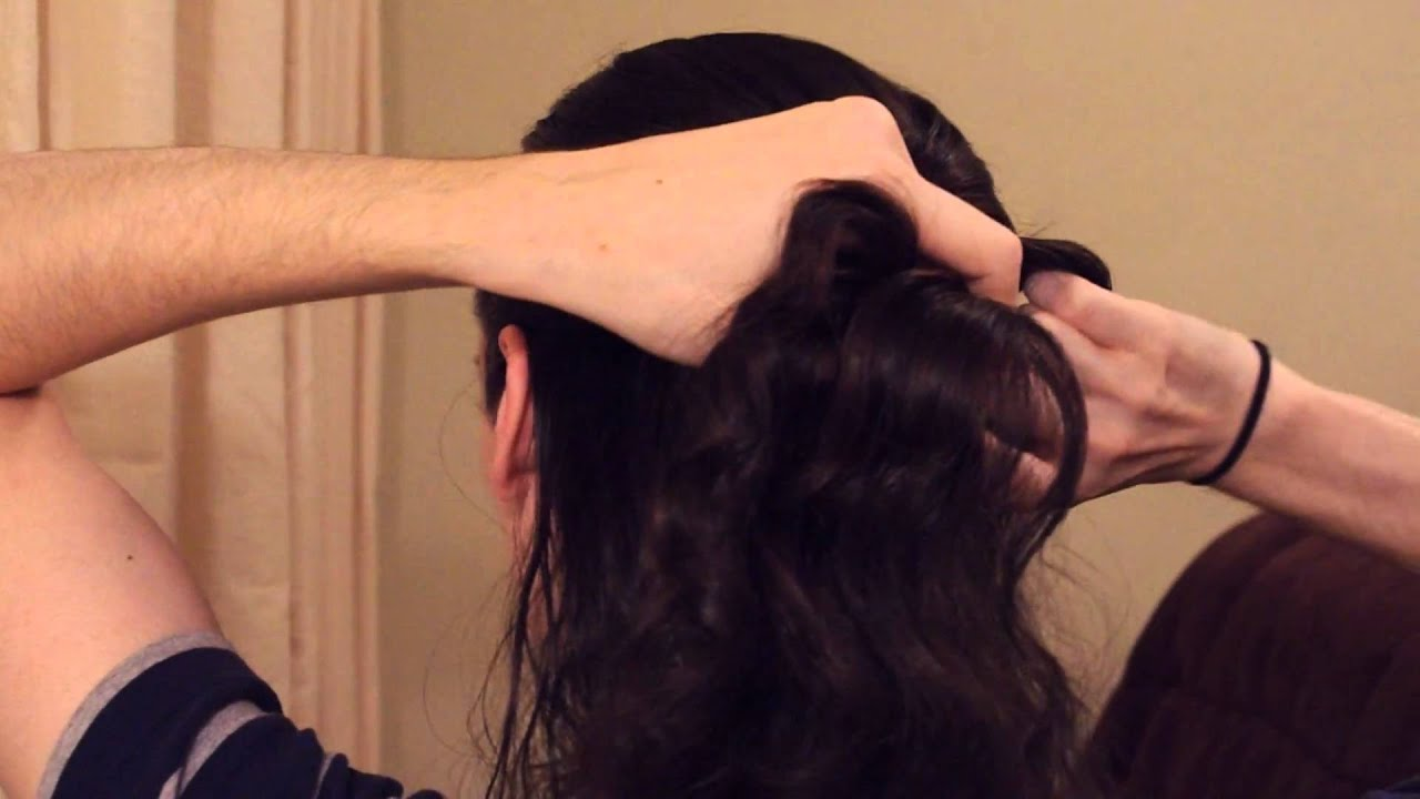 How To French Braid Your Own Hair Youtube