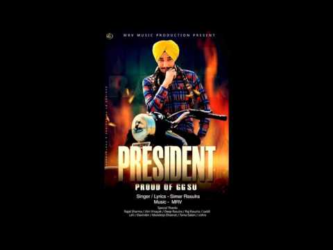 President - Proud of GGSU || Simar Rasulra || M.r.V Music Production