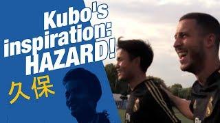 """Kubo: """"I watched videos of Eden Hazard!"""""""