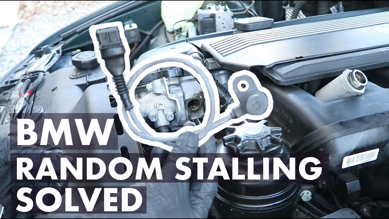 medium resolution of bmw random stalling issue solved p0340 intake camshaft position sensor youtube