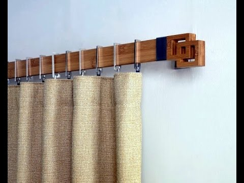 DIY easy curtain creative unique rods and finals pinterest