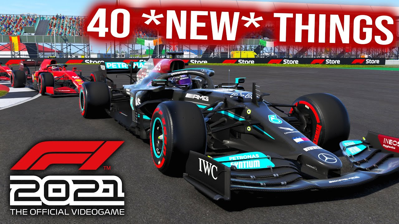 F1 2021 Game - Here's 40 Brand New Features