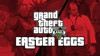 GTA 5 ONLINE: GTA 5: 29 Secrets and Easter Eggs (GTA 5 Easter Eggs)