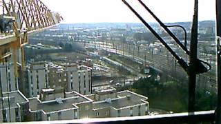 grue a tour vu sur lyon lhieberr 200ecb kran cranes