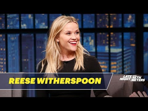 Reese Witherspoon on What It's Like to Hang Out with Oprah