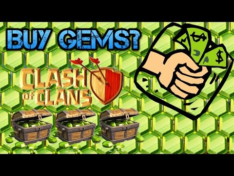 ✅SHOULD YOU BUY GEMS IN CLASH OF CLANS? IS IT REALLY WORTH IT!?