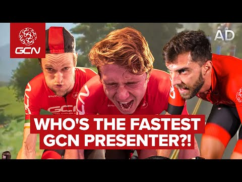 GCN Presenter World Champs | Who's The Fastest? We Let A Zwift Race Decide!