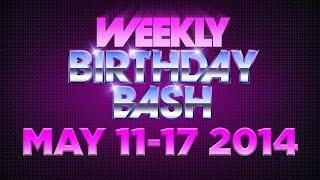 Celebrity Actor Birthdays - May 11-17, 2014 HD
