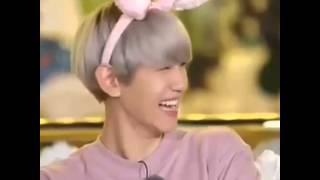 [EXO SECOND BOX] Baekhyun laugh ! 😂😂😂