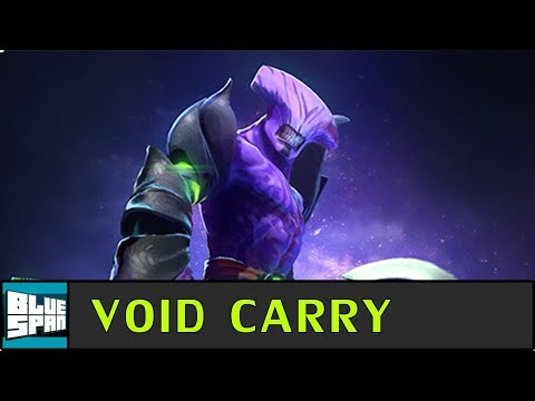 Blue Span Plays Faceless Void Carry | Dota 2 Ranked Gameplay