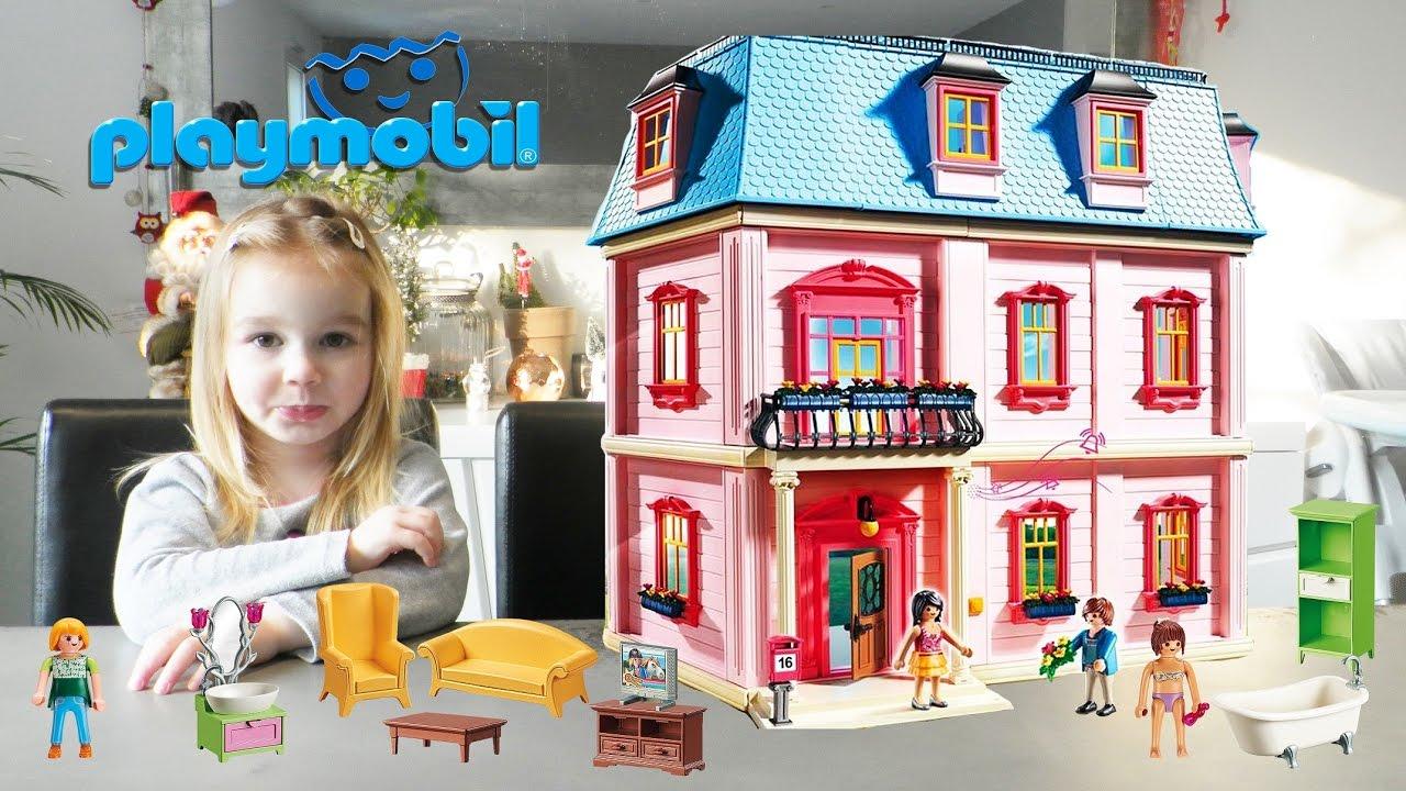 maison playmobil dollhouse complete sets 5303 5306. Black Bedroom Furniture Sets. Home Design Ideas