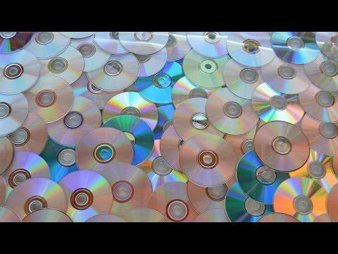 Cómo eliminar la película exterior en CDs reciclados