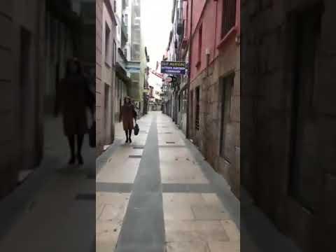 Viernes Santo de calles vacías