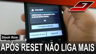 Celular LG não liga após reset - RESOLVIDO | Guajenet