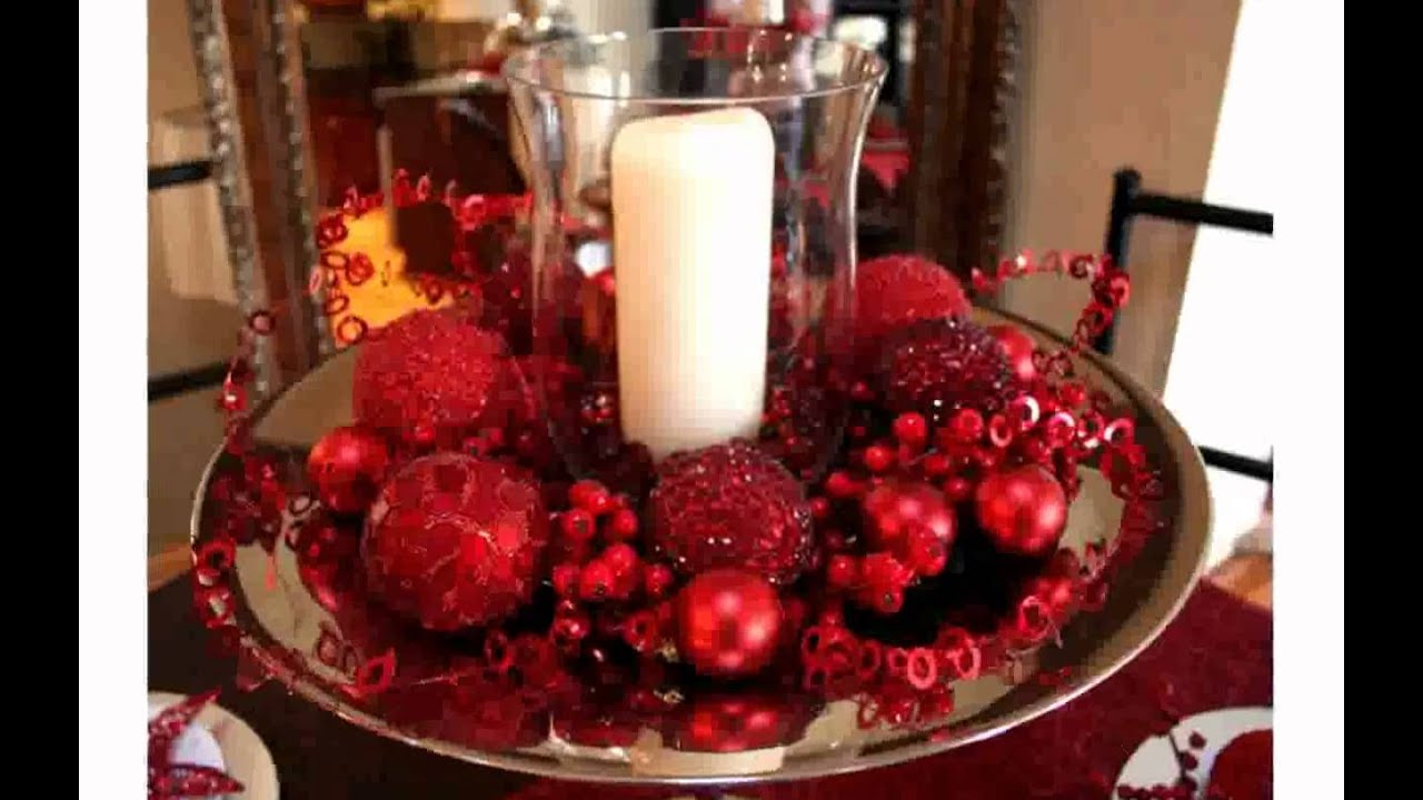 table decoration ideas for christmas youtube