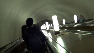 Спуск на эскалаторе, мелодия, реклама и Globalwave  - Глобальная Волна(, 2014-05-03T21:13:51.000Z)