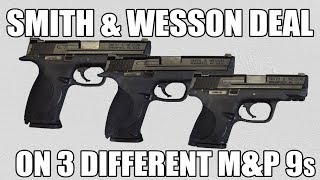 Black Friday Deals Just Keep Coming! Law Enforcement Model Smith & Wesson M&Ps