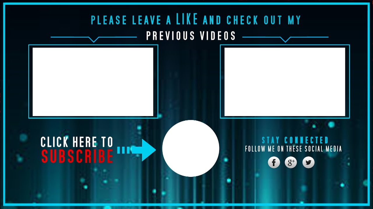 free vegas 14 pro outro template animated outro with end cards