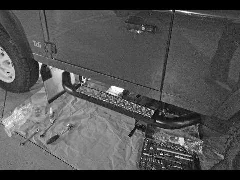 D.I.Y. – Land Rover Defender Side Steps Install