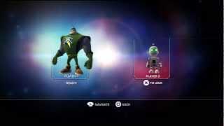 1 Ratchet & Clank: Full Frontal Assault Split Screen Co-op Walkthrough HD (Korgon Refinery 1/3)