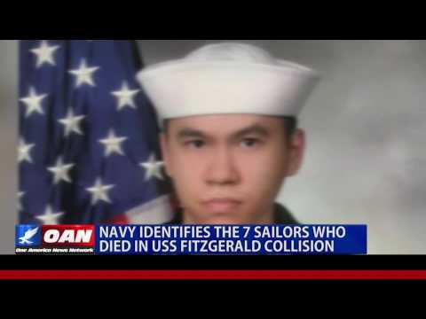 Navy ID's the 7 Sailors Who Died in U.S.S Fitzgerald Collision