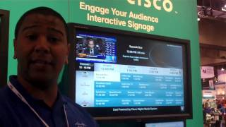 Cisco Digital Media Suite Demonstration at InfoComm 2010
