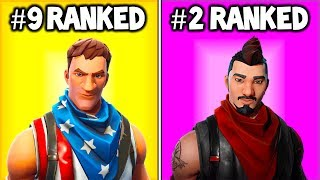 7 RARE FORTNITE SKINS You Didn't Know! Fortnite Item Shop (Season 9)