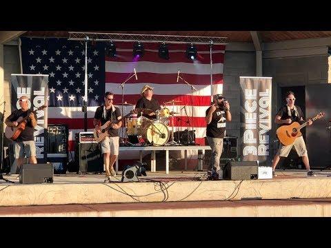 3 Piece Revival, Music In The Park, Mount Orab Ohio