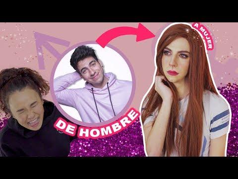 TRANSFORMANDO YOUTUBERS HOMBRES