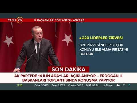 AK Parti İl Başkanları Toplantısı'nda 14 belediye başkanı adayı daha açıklandı
