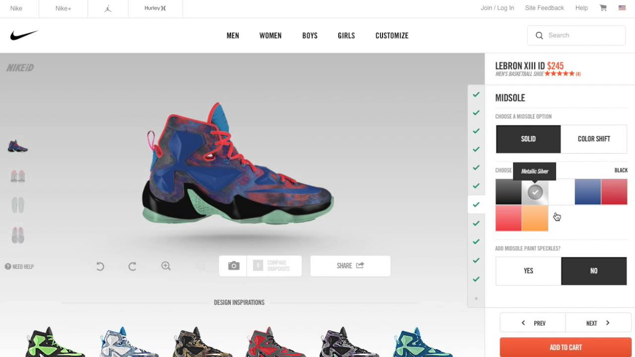 how to customize your nike shoe Create with miadidas custom color your own sneakers, football cleats, running shoes and more on adidascom your shoe your style your story.
