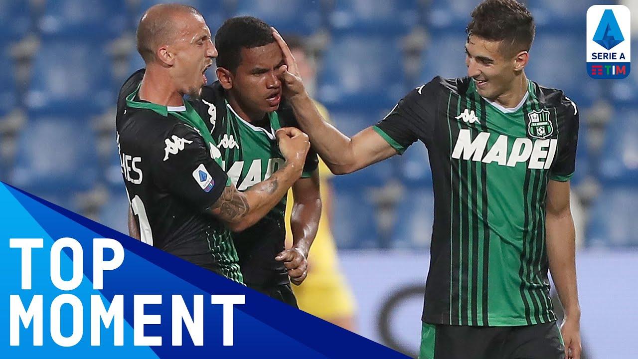 Rogério's SENSATIONAL 97th-Minute Equaliser!   Sassuolo 3-3 Hellas Verona   Top Moment  