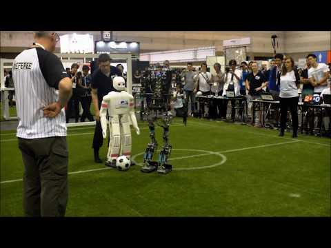 RoboCup 2017 Humanoid AdultSize Final: NimbRo vs. Sweaty