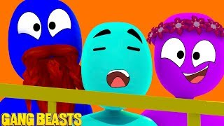 I AM THE BEAST TO END ALL BEASTS!!! GANG BEASTS w/ Little Kelly and Sharky