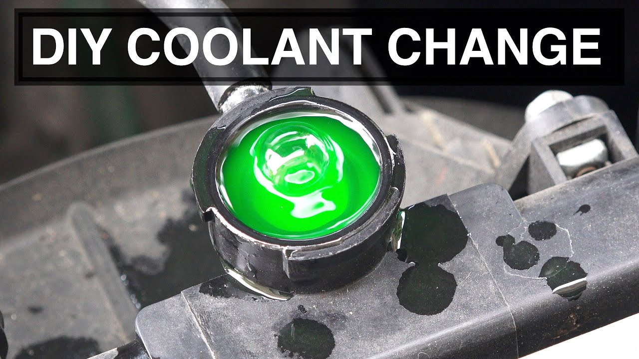 hight resolution of how to change the coolant