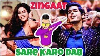 Zingaat Mashup | Sare Karo Dab | Zero To Infinity | Raftaar | Ishaan & Janhvi | Dhadak
