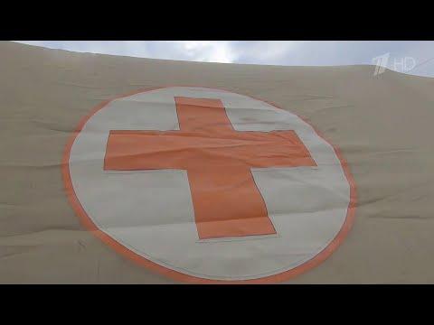 В Крыму сразу в двух городах разворачивают мобильные госпитали для заболевших коронавирусом.