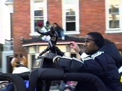 Parade Celebrating the 1997 U of Michigan Football Team, Jan. 11, 1998, Ann Arbor