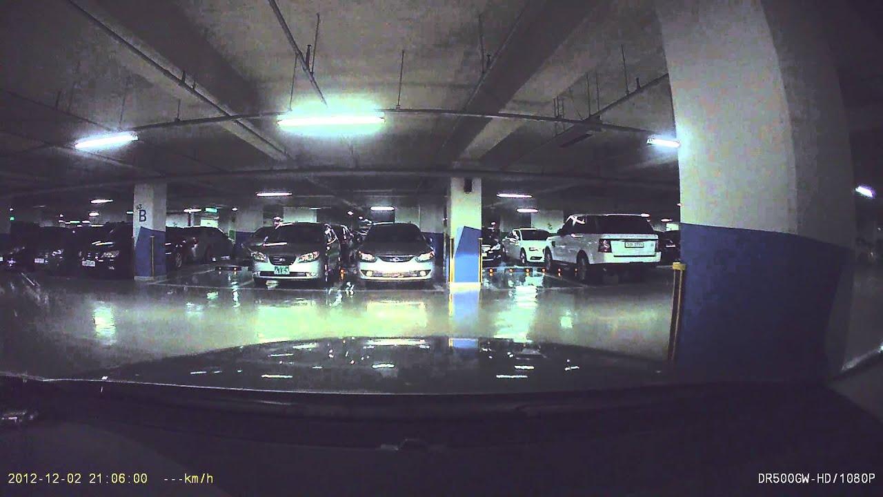 blackvue dashcam sample dr500gw hd front view parking mode youtube. Black Bedroom Furniture Sets. Home Design Ideas