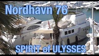 Nordhavn 76 – 'SPIRIT of ULYSSES' motor yacht REG. in BELFAST!