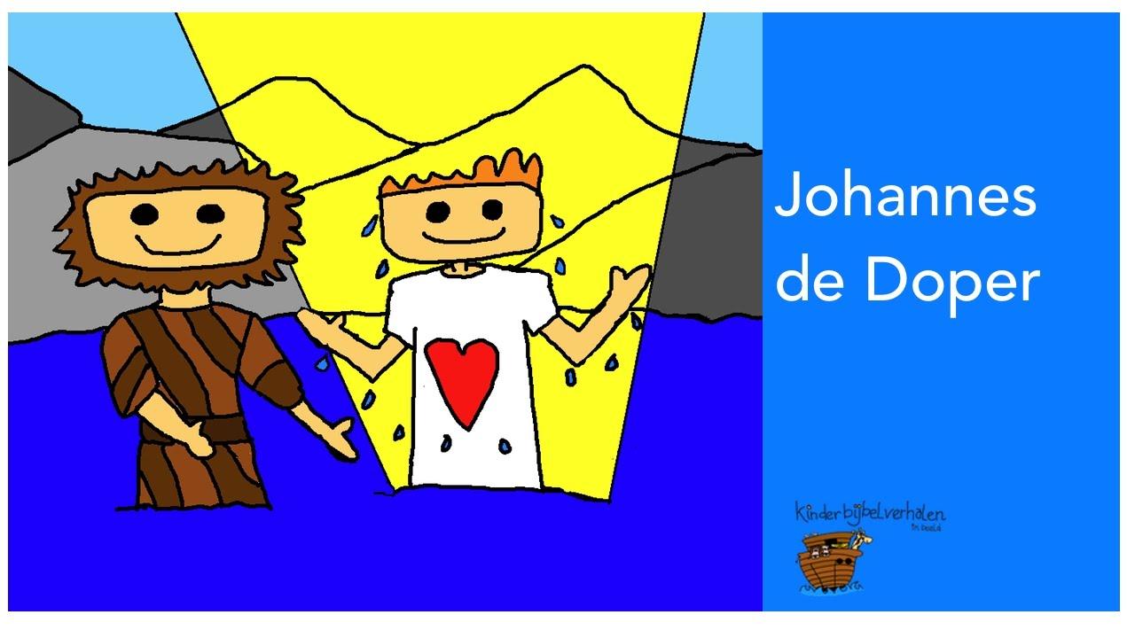 johannes de doper en de doop jezus