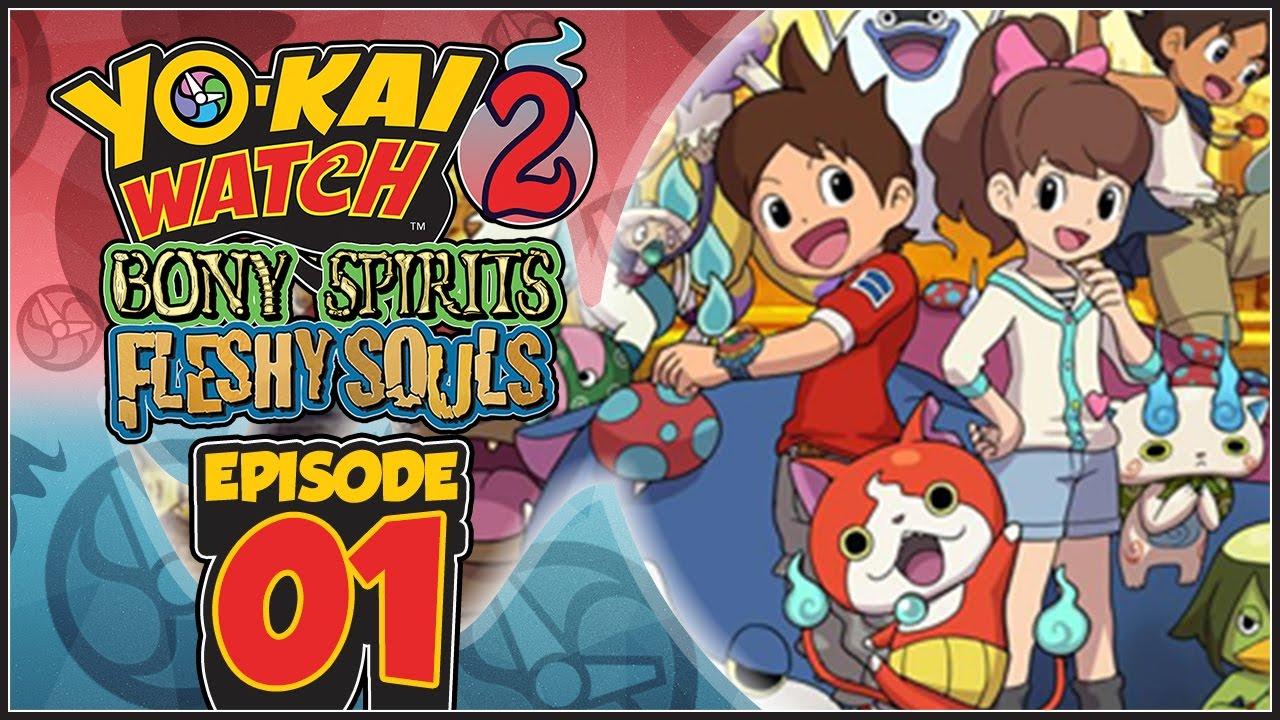Yo-Kai Watch 2 Bony Spirits   Fleshy Souls - Episode 1  0e94f5bad7